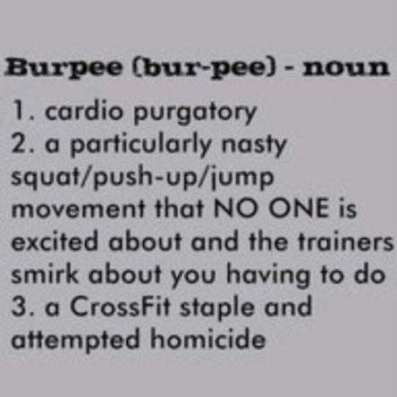 Everyone Loves Burpees!